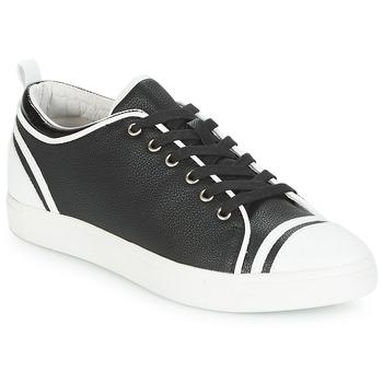 Chaussures Femme Baskets basses André LEANE Noir / Blanc