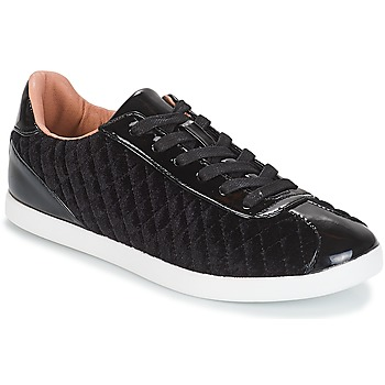 Chaussures Femme Baskets basses André VELVET Noir