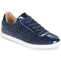 Chaussures Femme Baskets basses André VELVET Bleu