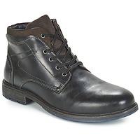 Chaussures Homme Boots André PRAO Noir
