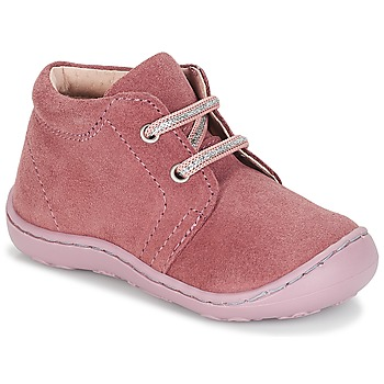 Chaussures Fille Boots André PALE Rose