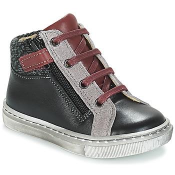 Chaussures Garçon Boots André CORBEAU Noir