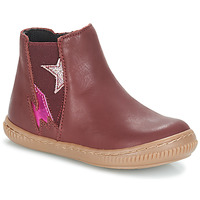 Chaussures Fille Boots André MAGENTA Bordeaux