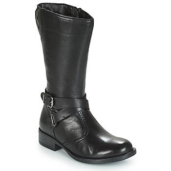 Chaussures Fille Bottes ville André HIVER Noir