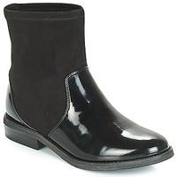 Chaussures Fille Boots André VALENTINA Noir