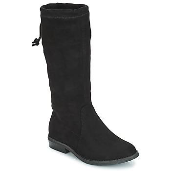 Chaussures Fille Bottes ville André VALENTINE Noir
