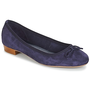 Chaussures Femme Ballerines / babies André CINDY Marine
