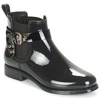 Chaussures Femme Bottes de pluie André THAMES Noir