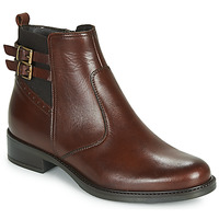 Chaussures Femme Boots André CARLIN Marron
