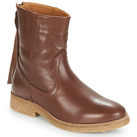 Chaussures Femme Boots André THEO Marron