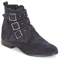 Chaussures Femme Boots André TIRA Marine