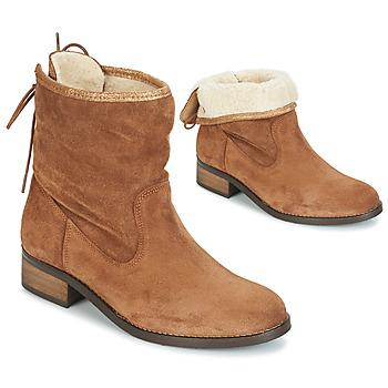 Chaussures Femme Boots André TELEX Marron
