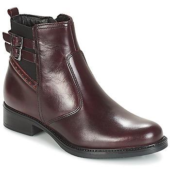 Chaussures Femme Bottines André CARLIN Bordeaux