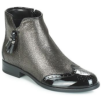 Chaussures Femme Boots André ALINA Bronze / Noir