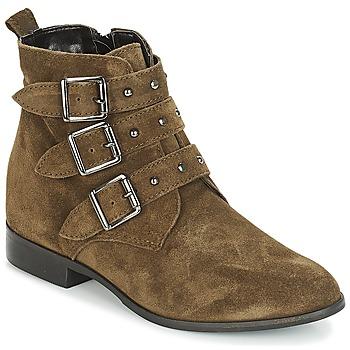 Chaussures Femme Boots André TIRA Vert