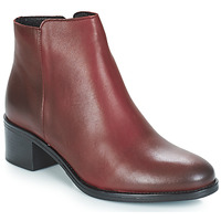 Chaussures Femme Bottines André CREDO Rouge