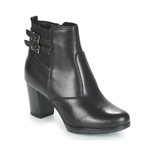 Chaussures Femme Bottines André CARACAL Noir