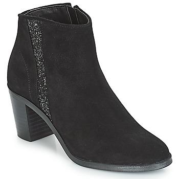 Chaussures Femme Bottines André TERRA Noir