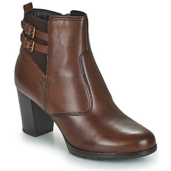Chaussures Femme Boots André CARACAL Marron