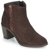 Chaussures Femme Bottines André TERRA Marron