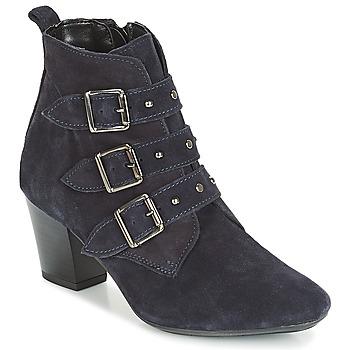 Chaussures Femme Bottines André TRACY Bleu