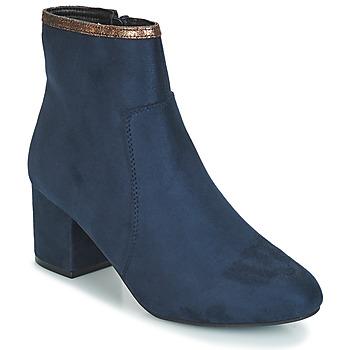 Chaussures Femme Boots André FALOU Bleu