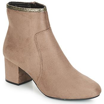 Chaussures Femme Boots André FALOU Beige