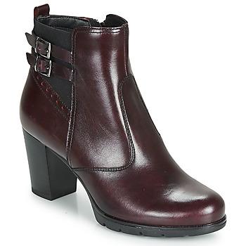 Chaussures Femme Bottines André CARACAL Bordeaux