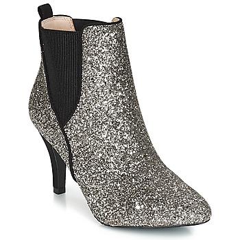 Chaussures Femme Bottines André APRIL Argenté