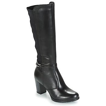 Chaussures Femme Bottes ville André TANIA Noir