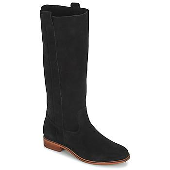 Chaussures Femme Bottes ville André THEE Noir
