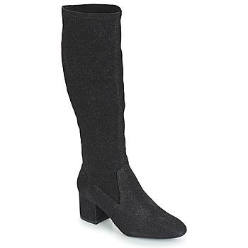 Chaussures Femme Bottes ville André FARFELUE Noir paillettes