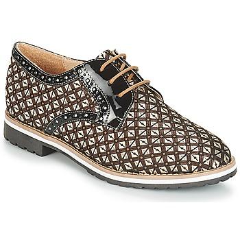Chaussures Femme Derbies André DERIVEUR Marron