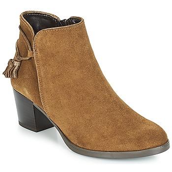 Chaussures Femme Bottines André MISTINGUETTE Marron