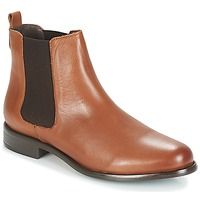Chaussures Femme Bottines André CARAMEL Marron