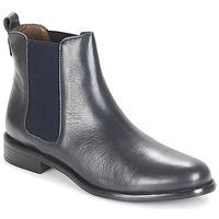 Chaussures Femme Boots André CARAMEL Bleu