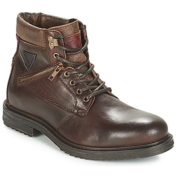 Chaussures Homme Boots André MORRO Marron