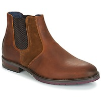Chaussures Homme Boots André CLAUDIO Marron