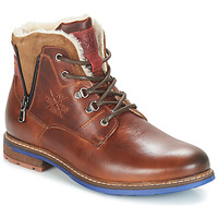 Chaussures Homme Boots André GUINEE Marron