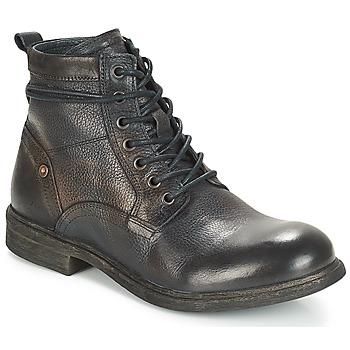 Chaussures Homme Boots André TREVOR Bleu