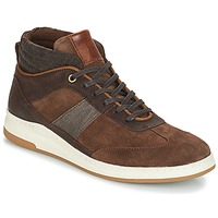 Chaussures Homme Baskets montantes André GLASGOW Marron