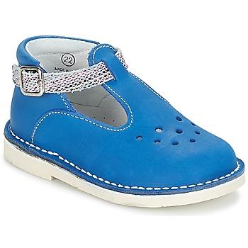 Chaussures Fille Ballerines / babies André LE SABLIER Bleu