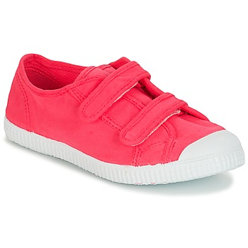 Chaussures Fille Baskets basses André LITTLE SAND Rose
