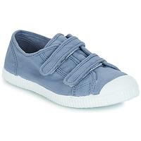 Chaussures Garçon Baskets basses André LITTLE SAND Bleu