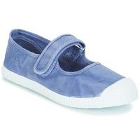 Chaussures Fille Ballerines / babies André LA BLEUETTE Bleu