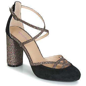 Chaussures Femme Escarpins André PUMPY Noir