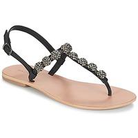 Chaussures Femme Tongs André LAHORI Noir