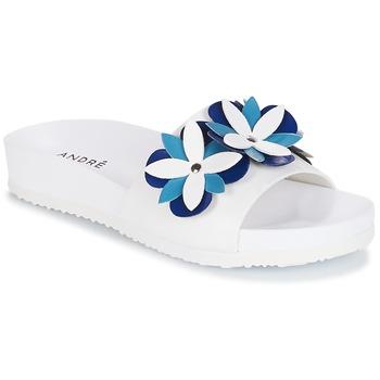Chaussures Femme Mules André GARDENIA Bleu