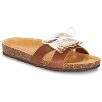 Chaussures Femme Mules André COMORES Camel