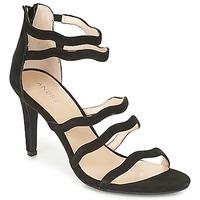 Chaussures Femme Sandales et Nu-pieds André POULOUPIDOU Noir